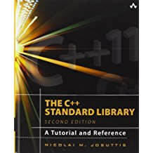 Book Cover: The C++ Standard Library