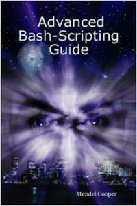 Book Cover: Advanced Bash-Scripting Guide