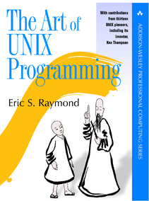 Book Cover: The Art of UNIX Programming