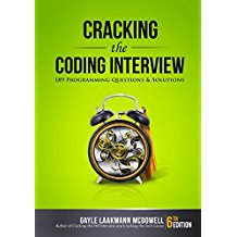 Book Cover: Cracking the Coding Interview