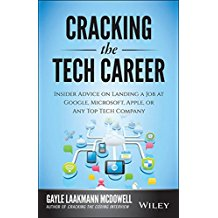 Book Cover: Cracking the Tech Career