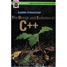 Book Cover: The Design and Evolution of C++