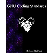 Book Cover: GNU Coding Standards