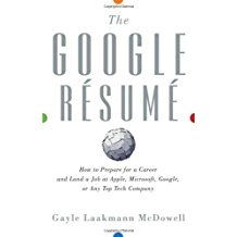 Book Cover: The Google Resume